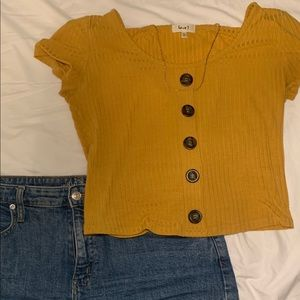 Yellow shirt from Ross (L)